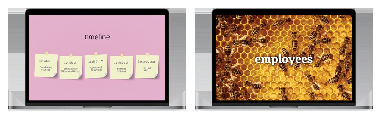 PowerPoint design examples